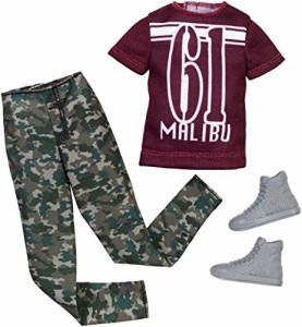 バービーBarbie Ken Fashion Pack Camouflage Set