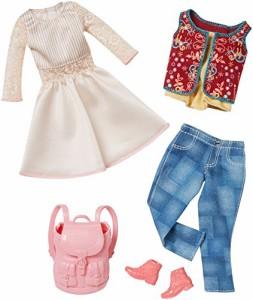 バービーBarbie Fashion 2 Pack Casual - White Dress & Jeans
