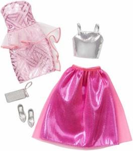 バービーBarbie Fashion 2 Pack Fancy - Pink & Silver