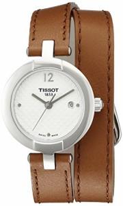 【当店1年保証】ティソTissot Women's T0842101601704 Pinky Analog Display Swiss Quartz Brown Watch