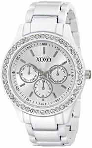 【当店1年保証】クスクスXOXO Women's XO5408 Rhinestone-Accented Watch