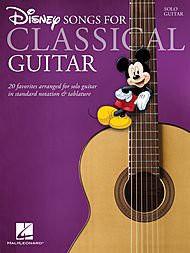 ディズニーDisney Songs for Classical Guitar - Guitar Solo