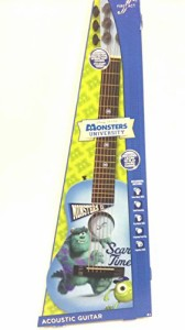 ディズニーDisney Monsters University Acoustic Guitar by First Act MU709
