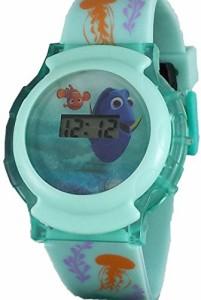 """【当店1年保証】ディズニーDisney Kid's """"Finding Dory"""" Light Up Digital Watch FDO3055"""