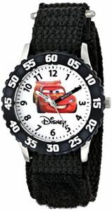 【当店1年保証】ディズニーDisney Kids' W000082 Cars Stainless Steel Time Teacher Watch