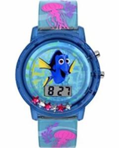 【当店1年保証】ディズニーFinding Dory LCD Flashing Lights Watch