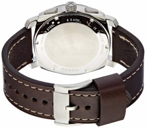 【当店1年保証】フォッシルFossil Men's FS5170 Machine Chronograph Dark Brown Leather Watch