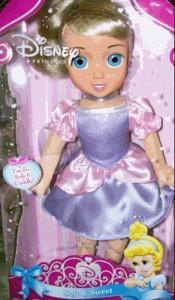 """眠れる森の美女Disney Soft and Sweet Little Princess Aurora Doll Toy 12"""""""