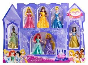 ディズニープリンセスDisney Princess Little Kingdom Magiclip 7-Doll Giftset (Discontinued by manufact