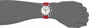 【当店1年保証】ティソTissot Men's 'Quickster' Swiss Quartz Stainless Steel and Nylon Watch, Color: