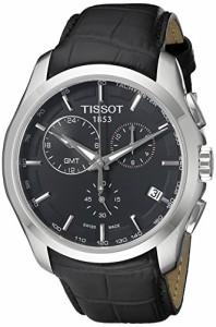 【当店1年保証】ティソTissot Men's T0354391605100 T-Trend Couturier Analog Display Swiss Quartz Bla