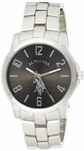 【当店1年保証】ユーエスポロアッスンU.S. Polo Assn. Classic Men's USC80041 Silver-Tone Watch