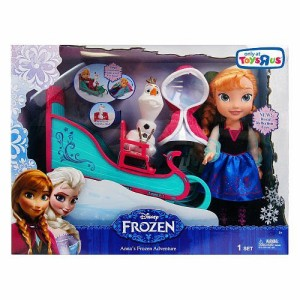 アナと雪の女王Disney Anna's Frozen Adventure with Sleigh and Olaf