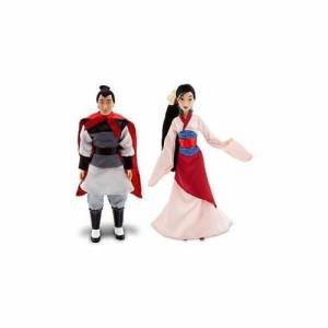 ムーランDisney Princess Mulan & Prince Li Shang Friends Doll