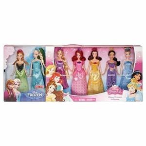 ディズニープリンセスDisney Princess Royal Doll Collection 7-Pack