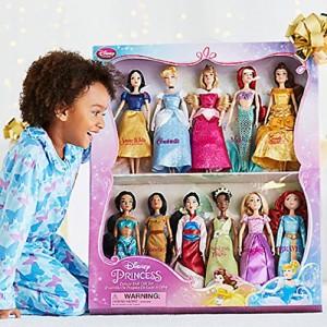 ディズニープリンセスDisney Exclusive Princess Classic Doll Collection - 12- (11 Dolls:Snow White, Ci