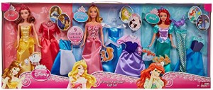 ディズニープリンセスDisney Princess Dreams Come True Doll & Fashions Gift Set