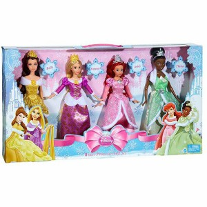 ディズニープリンセスDisney Princess Holiday Fashion, 4pk