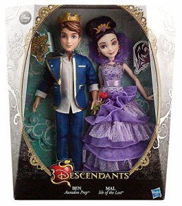 """ディセンダントDisney Descendants Ben & Mal Exclusive 11"""" Doll 2-Pack [Coronation]"""