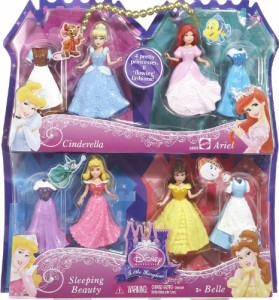 ディズニープリンセスDisney Princess Favorite Moments 4-Pack Gift set-Styles May Vary