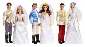 ディズニープリンセスDisney Princess Fairytale Wedding 6-Doll Gift Set