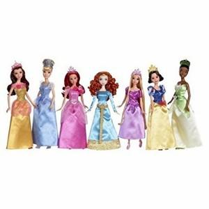 ディズニープリンセスUltimate Disney Princess Collection, 7 Dolls: Belle, Cinderella, Ariel, Merida,