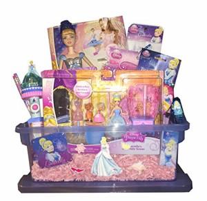 シンデレラDisney Princess Cinderella Ultimate Gift Basket featuring Disney Cinderella Uno!! - Perfect for