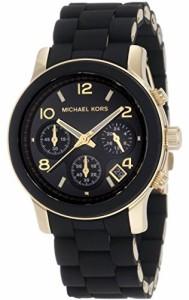 【当店1年保証】マイケルコースMichael Kors Women's MK5191 Runway Black Stainless Steel Watch