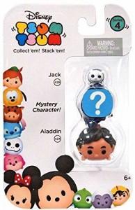 """アラジンDisney Tsum Tsum Series 4 Jack & Aladdin 1"""" Minifigure 3-Pack"""