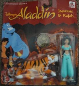 アラジンDisney Aladdin Figure Jasmine and Rajah