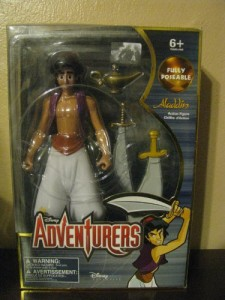 アラジンDisney Adventurers Fully Poseable Aladdin by Disney