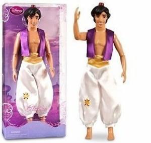 アラジンDisney Classic Prince Aladdin Doll in Peasant Attire -- 12'' H
