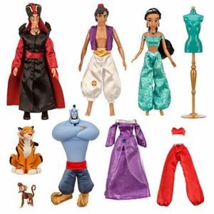 アラジンUS Version Disney Aladdin Deluxe Doll Gift Set