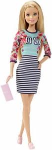 バービーBarbie Fashionistas Doll Floral Top and Striped Skirt - Original