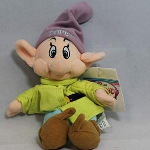 白雪姫Dopey - Snow White Dwarf - Disney Mini Bean Bag Plush