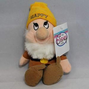 白雪姫Happy - Snow White Dwarf - Disney Mini Bean Bag Plush