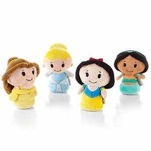 シンデレラHallmark Itty Bittys Disney Princess Collector Set - Belle, Cinderella, Snow White, Jasmine
