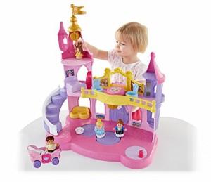 ディズニープリンセスFisher-Price Little People Disney Princess Musical Dancing Palace