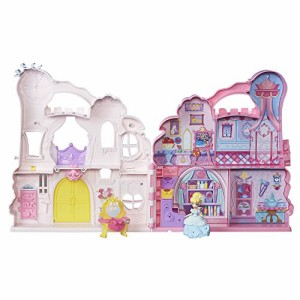 ディズニープリンセスDisney Princess Little Kingdom Play 'n Carry Castle - Triple Functions as Magi