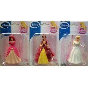 ディズニープリンセス3 Disney Figurines Cinderella & Belle & Ariel (Sold As a Set)