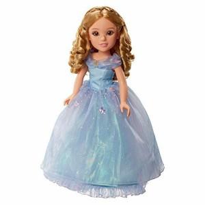 シンデレラPrincess & Me Disney Cinderella Live Action 18 Inch Doll by Jakks HK Ltd.
