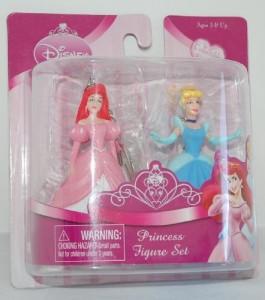 ディズニープリンセスDisney Princess Figure Set - Ariel and Cinderella