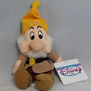白雪姫Sneezy - Snow White Dwarf - Disney Mini Bean Bag Plush
