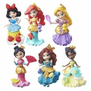 ディズニープリンセスSet of 6: Disney Princess Little Kingdom Classic Dolls - Ariel, Snow White, Rapu