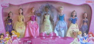 ディズニープリンセスDisney ULTIMATE PRINCESS DOLL Collection w 7 Dolls TARGET Exclusive (2009)