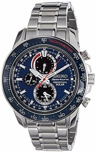 【当店1年保証】セイコーSeiko Men's SSC355P1 Sportura Blue Watch