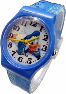 "【当店1年保証】ディズニーDisney Watch For Kids Donald Duck..Large Analog Dial. 9""L Band."