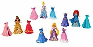ディズニープリンセスDisney Princess Little Kingdom Magiclip Fashion Gift Set - Includes Belle, Merid