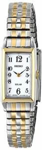【当店1年保証】セイコーSeiko Women's SUP228 Analog Display Japanese Quartz Two Tone Watch