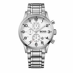【当店1年保証】ヒューゴボスHugo Boss Watches Men's Aeroliner Watch (White)